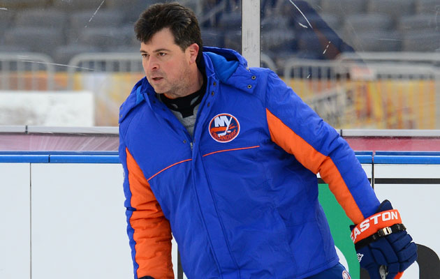 Jack Capuano took over as Isles coach in 2010-11. (Getty Images)