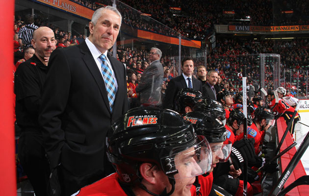 Bob Hartley has earned another season at least in Calgary. (Getty Images)
