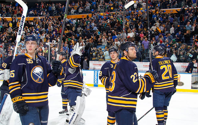The Sabres are most likely to pick first overall. (Getty Images)