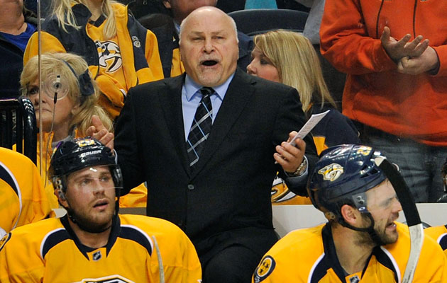 Barry Trotz has been in Nashville the last 16 seasons. (Getty Images)