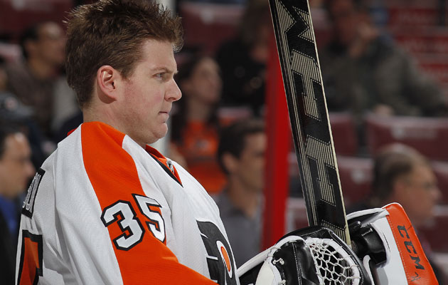 Steve Mason is out for Game 1, potentially longer. (Getty Images)