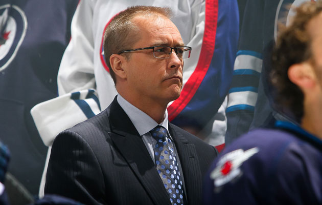 Paul Maurice took over in Winnipeg with 35 games to go. (Getty Images)