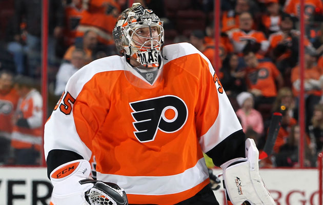 Steve Mason played 61 games this season for Philly. (Getty Images)