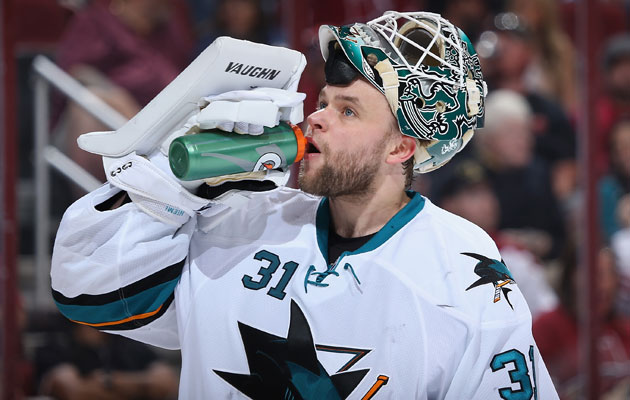Antti Niemi finished the season with a save percentage of .913. (Getty Images)