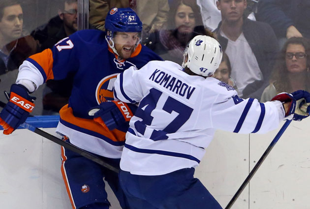 No really, the Isles and Leafs have an important game tonight. (USATSI)
