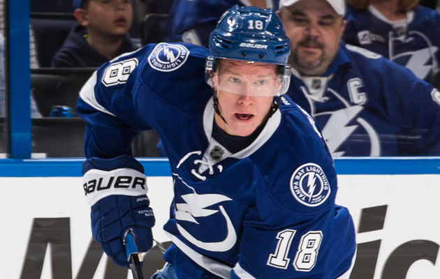 Ondrej Palat missed Game 2. (Getty Images)