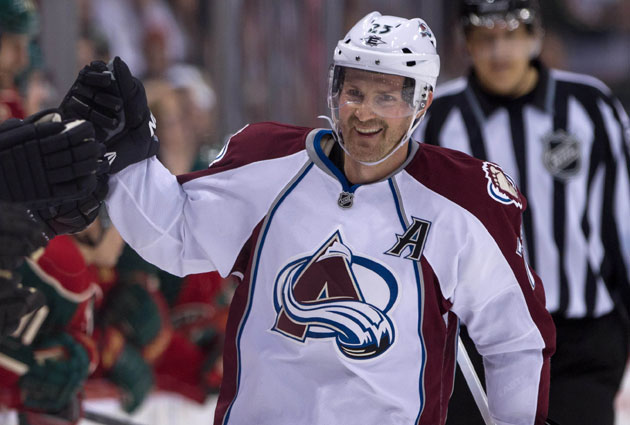 Hejduk was the captain before the C was given to Gabriel Landeskog. (USATSI)
