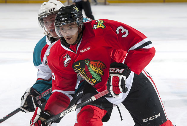 Seth Jones plays for the Portland Winterhawks in the WHL. (Getty Images)