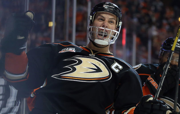 Ryan Getzlaf led the Ducks in points this season. (Getty Images)