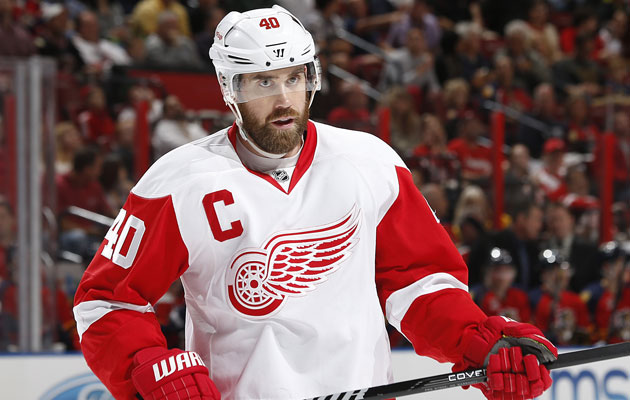 Henrik Zetterberg is a game-time call for Game 4. (Getty Images)