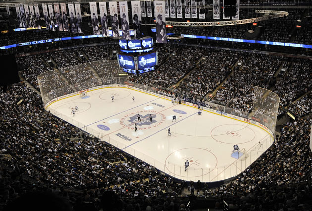 There's no such thing as a cheap ticket to a hockey game in Air Canada Centre. (Getty Images)