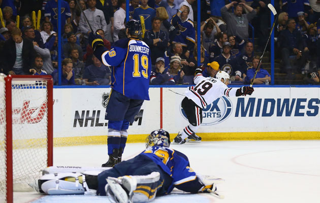 The Blues are experiencing a severe case of deja vu. (Getty Images)