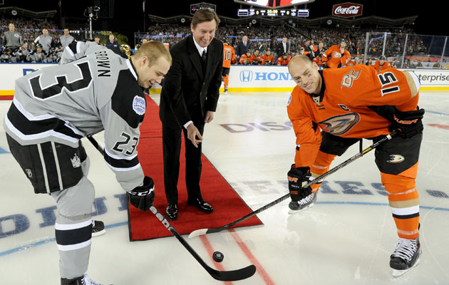 Dustin Brown and Ryan Getzlaf represent SoCal well. (Getty Images)