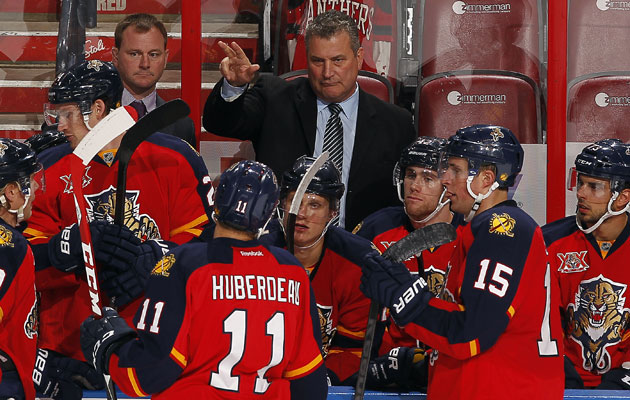 Peter Horachek coached the Panthers for 66 games. (Getty Images)