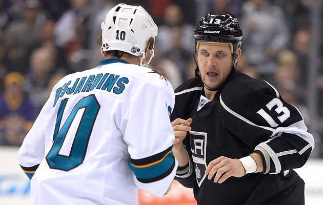 San Jose and LA duke it out in a Game 7 again. (Getty Images)