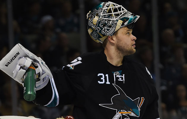 Antti Niemi will start Game 7 after a Game 6 benching. (Getty Images)