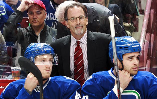 John Tortorella was 36-35-11 as the Canuck coach. (Getty Images)