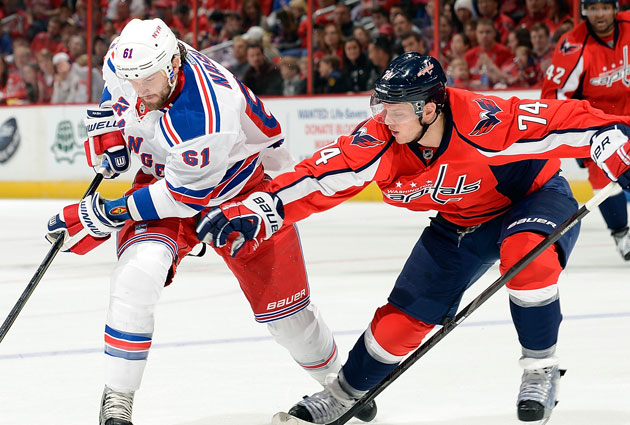 Rick Nash and Karl Alzner will probably see a lot of each other. (Getty Images)