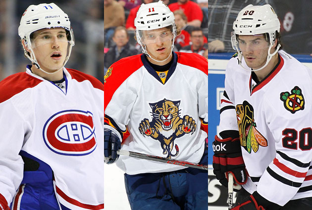 The Calder Trophy finalists. (Getty Images)