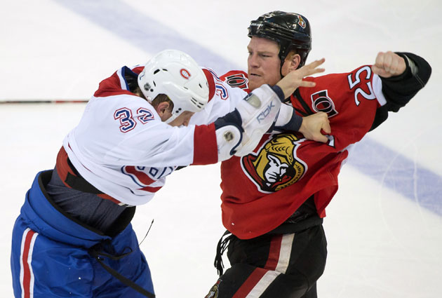 Will the fists be flying again in Ottawa? (USATSI)