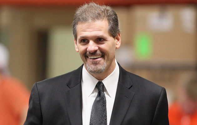 Ron Hextall will be calling the shots now in Philly. (Getty Images)