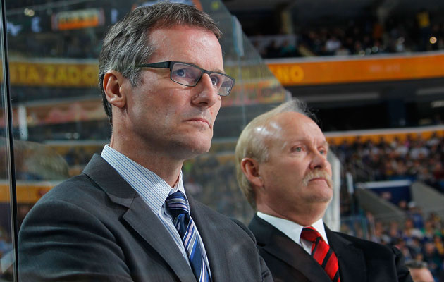 James Patrick is a coach on Lindy RUff's staff. (Getty Images)