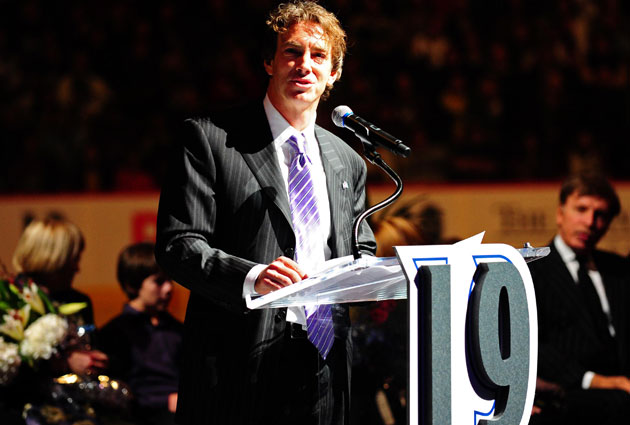 Sakic had his number retired in Colorado. (USATSI)