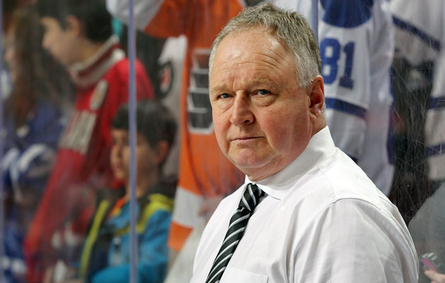 Randy Carlyle has been behind the Leafs bench since 2011-12. (Getty Images)