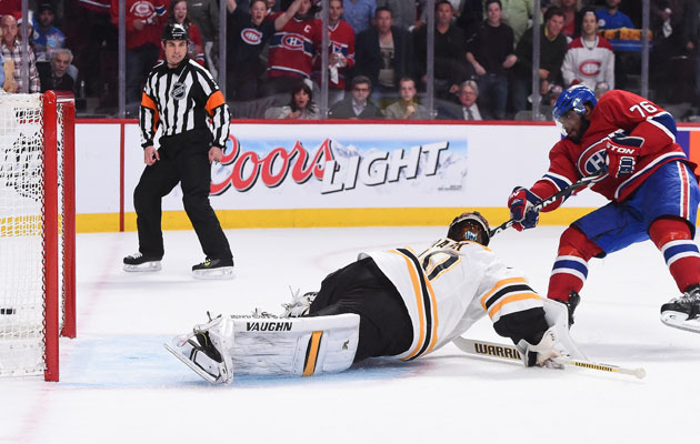 Tuukka Rask has always had a tough time with the Habs. (Getty Images)