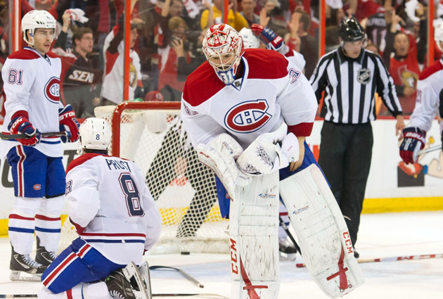 In the four games this series, Price had a .894 save percentage, 3.26 GAA. (USATSI)