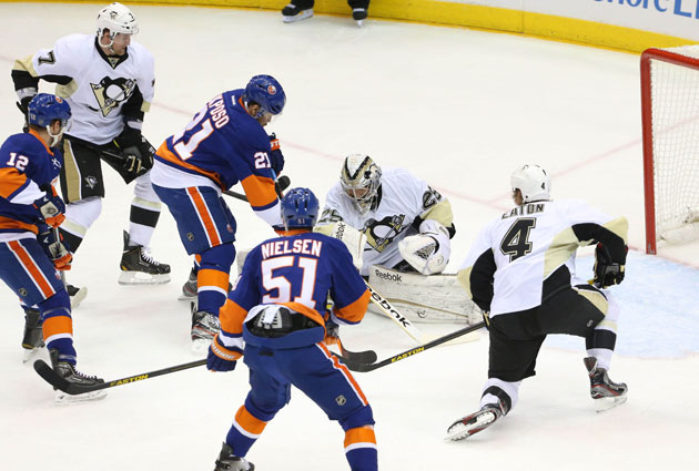 The Isles will go after Vokoun instead of Fleury in Game 5. (USATSI)