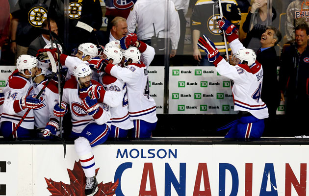 The Habs are moving on after taking out Boston in seven. (Getty Images)