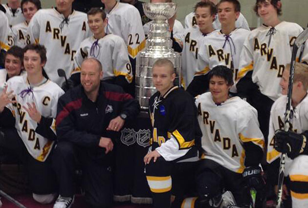 Jean-Sebastien Giguere helps make Stanley Cup wish come ...