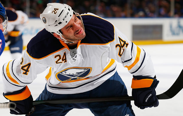 Zenon Konopka appeared in 59 games last season with Minnesota and Buffalo. (Getty Images)