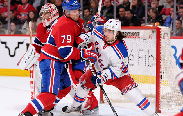 The Habs and Rangers battle for a spot in the Final. (Getty Images)