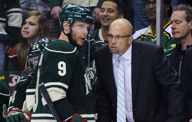 Mike Yeo is expected to re-sign in Minnesota. (Getty Images)