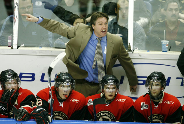Patrick Roy was introduced as the new Avs coach almost 10 years to the day that he retired. (Getty Images)