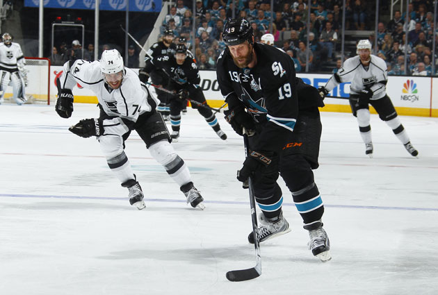 San Jose has been stronger than Los Angeles in the second round. (Getty Images)