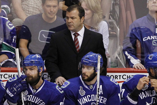 Alain Vigneault led Vancouver to a division title in six of his seven seasons with the franchise. (USATSI)