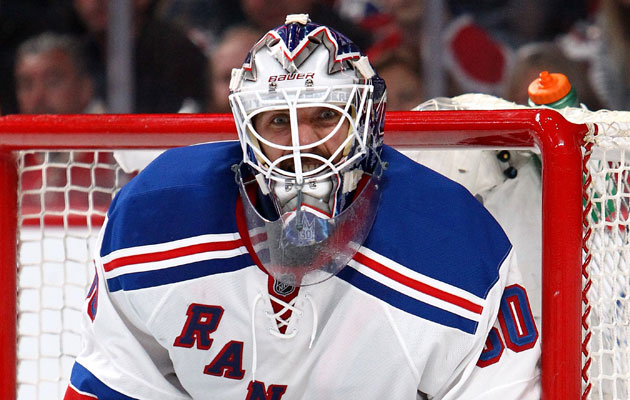 Henrik Lundqvist has been the best goalie in the postseason. (Getty Images)