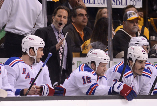 John Tortorella is reportedly talking with the Vancouver Canucks. (USATSI)