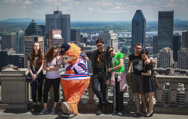Youppi! is the saddest fan in Montreal. (@CanadiensMTL)