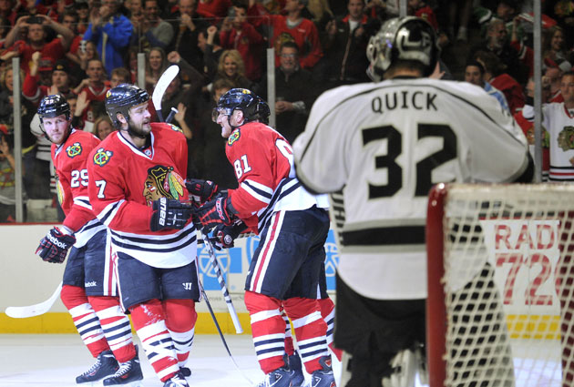 Chicago is starting to click on all cylinders, taking a 2-0 series lead on LA. (USATSI)