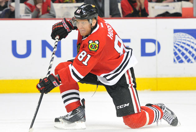 Hossa gets credit for being a very good player, but not enough. (USATSI)