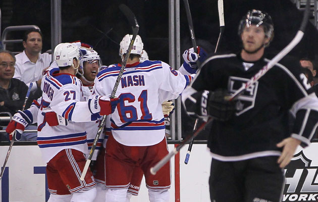 Can the Rangers rain on LA's parade? (Getty Images)