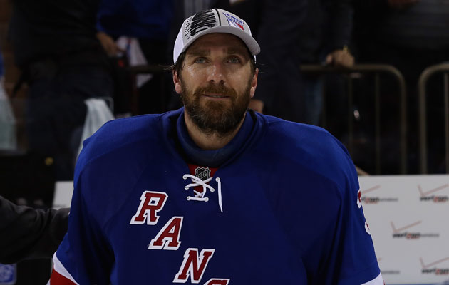 Henrik Lundqvist is good at his job. (Getty Images)