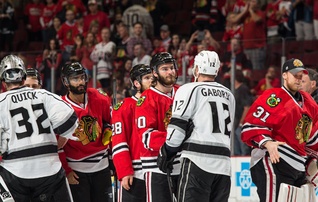 A lot of people tuned in to see LA eliminate Chicago. (Getty Images)
