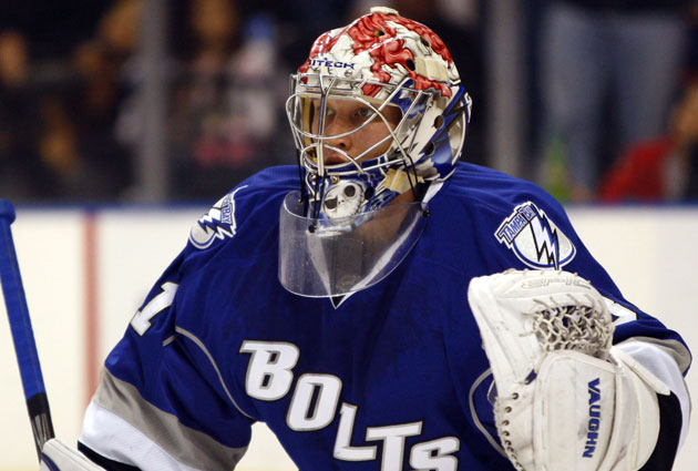 Ramo played 48 games for Tampa Bay before going to the KHL. (USATSI)