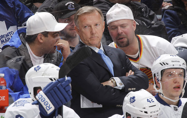 Ron Wilson last coached in Toronto, where he was fired late in the 2011-12 season. (Getty Images)