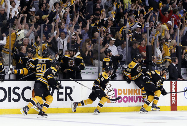 Nothing beats the excitement in hockey of an overtime playoff goal. (USATSI)